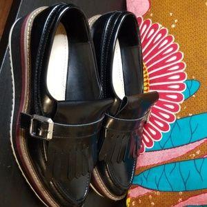 Zara Women Black oxfords